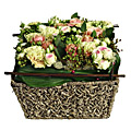 Cut Flower Arrangement in Basket