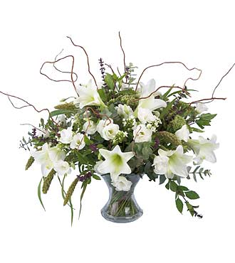 White Festive Bouquet