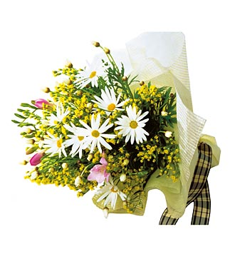 White and Yellow Bouquet