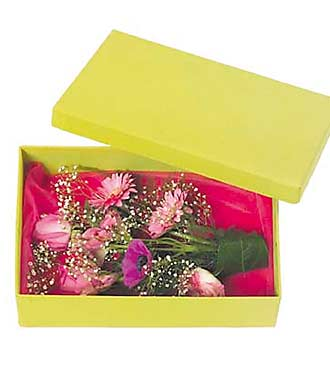Small Box with Flowers