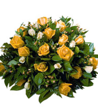 Yellow Posy Arrangement