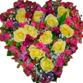 Heart-shaped Arrangement