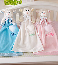 Personal Creations ® Soft and Sweet Lamb Blanket