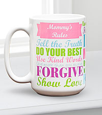 Personal Creations ® Rules Mug-Styles to choose from
