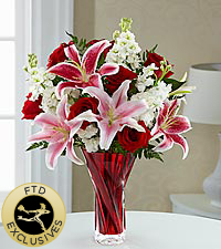 The FTD ® Anniversary Bouquet - VASE INCLUDED