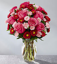 The FTD ® Precious Heart™ Bouquet-VASE INCLUDED