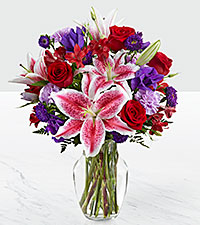 The Stunning Beauty™ Bouquet by FTD ® - VASE INCLUDED