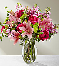 The FTD ® Pink Posh ™ Bouquet