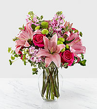 The FTD ® Pink Posh™ Bouquet- VASE INCLUDED