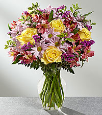 The FTD ® True Charm™ Bouquet- VASE INCLUDED
