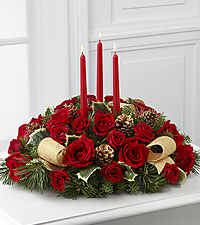The Celebration of the Season ™ Centerpiece by FTD ®