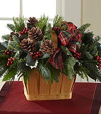 The FTD ® Christmas Coziness™ Basket
