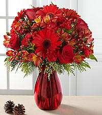 The FTD ® Spirit of the Season™ Bouquet