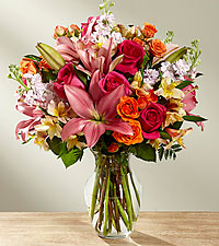 The FTD ® Into the Woods™ Bouquet- VASE INCLUDED
