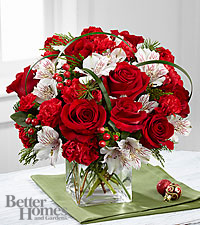 The FTD ® Holiday Hopes™ Bouquet by Better Homes and Gardens ®