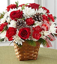 The FTD ® Holiday Happiness™ Basket