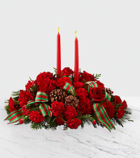 The FTD ® Holiday Classics™ Centerpiece by Better Homes and Gardens ®
