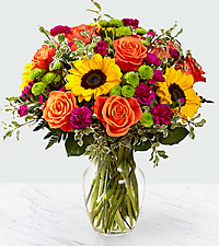 The FTD ® Color Craze™ Bouquet- VASE INCLUDED