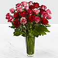 The True Romance™ Rose Bouquet by FTD® - VASE INCLUDED