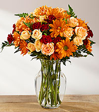 The FTD ® Golden Autumn ™ Bouquet