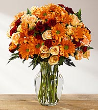 The FTD ® Golden Autumn™ Bouquet