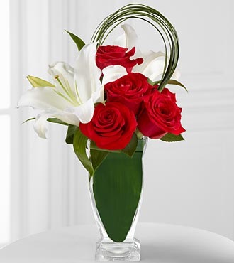 The Pure Passion™ Bouquet by FTD® - VASE INCLUDED