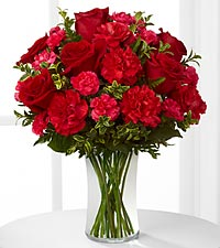 The FTD&reg; Always True&trade; Bouquet - VASE INCLUDED