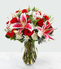 The FTD ® Frosted Findings ™ Bouquet
