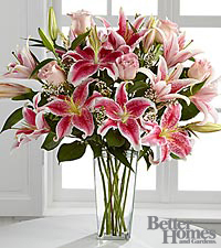 The FTD ® Simple Perfection™ Bouquet by Better Homes and Gardens ® - VASE INCLUDED