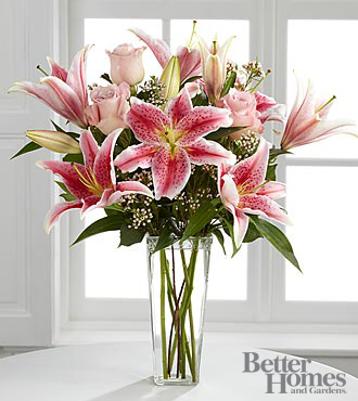 The FTD&reg; Simple Perfection&trade; Bouquet by Better Homes and Gardens&reg; - VASE INCLUDED