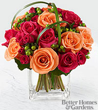 The FTD ® Deep Emotions™ Rose Bouquet - VASE INCLUDED