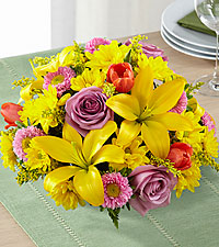 The FTD ® Spring Sunshine™ Centerpiece