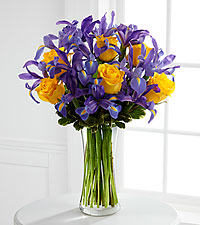 The Sunlit Treasures&trade; Bouquet by FTD&reg; - VASE INCLUDED