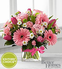 The FTD &reg; Blooming Vision&trade; Bouquet by Better Homes and Gardens &reg; - VASE INCLUDED