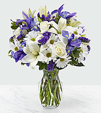 The FTD ® Sincere Respect™ Bouquet- VASE INCLUDED