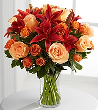 Le bouquet Tigress<sup>&trade;</sup> de FTD� - VASE INCLUS