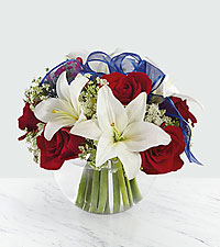 The FTD ® Independence™ Bouquet - VASE INCLUDED