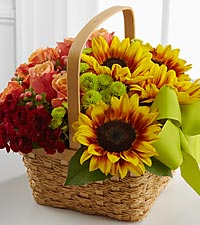 The FTD ® Bright Day™ Basket - BASKET INCLUDED