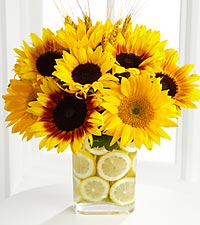 The FTD ® Sunshine Daydream™ Bouquet by Better Homes and Gardens ™