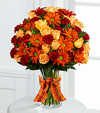 The FTD ® Golden Autumn™ Bouquet - VASE INCLUDED