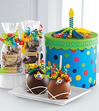 Mrs. Prindable's&reg; Happy Birthday Gourmet Gift Box