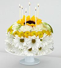 Flower Birthday Cakes The FTD Smiles TM Floral Cake Same Day Florist Delivered