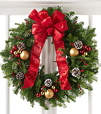 The FTD ® Winter Wonders™ Wreath