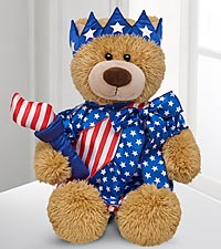 The Lady Liberty Bear by Build-A-Bear Workshop&reg;