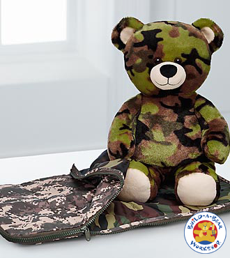 Happy Hunting Father's Day Bear By Build-a-bear Workshop