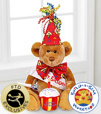Build-A-Bear Workshop&reg; Happy Bearthday&trade; Bear