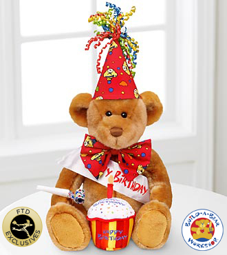 Build-A-Bear Workshop® Happy Bearthday™ Bear