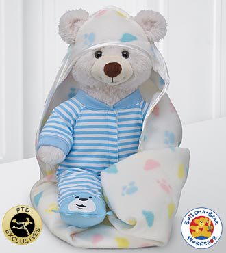 Sweet Dreams Baby Bear by Build-A-Bear Workshop&reg; - Boy