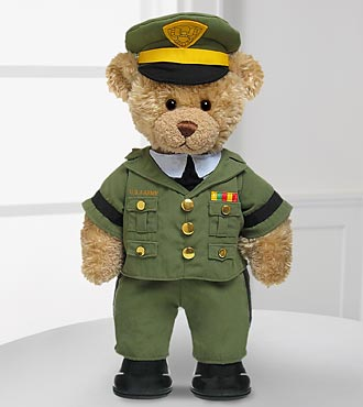 Army Officer Hero Bear by Build-A-Bear Workshop®