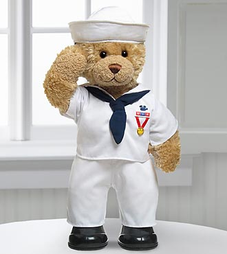 Sailor Hero Bear by Build-A-Bear Workshop&reg;